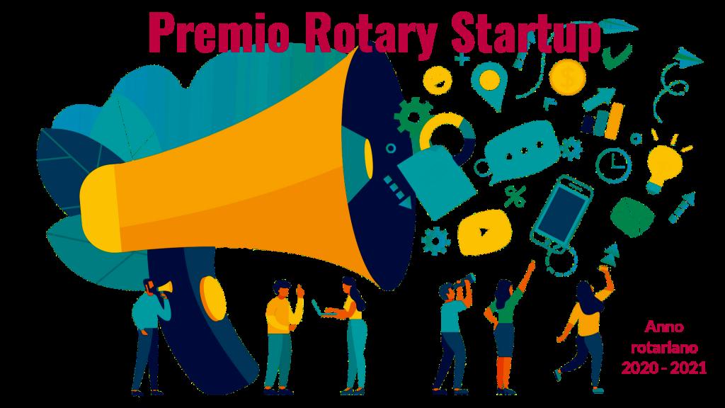 premio rotary startup anno rotariano 2020-2021